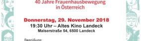 Lesung Landeck Altes Kino - Home sweet Home